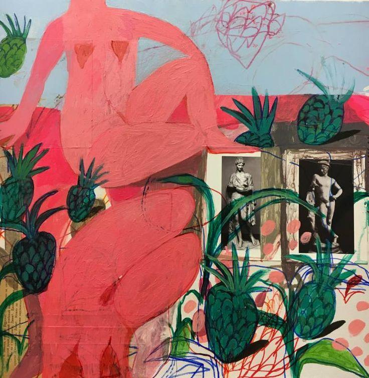 """Saatchi Art Artist Rusudan Khizanishvili; Painting, """"The Harvest II"""" #art"""