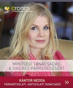 Tanácsadóink egyike, Kántor Nedda, pszichológus, párkapcsolati szakértő.