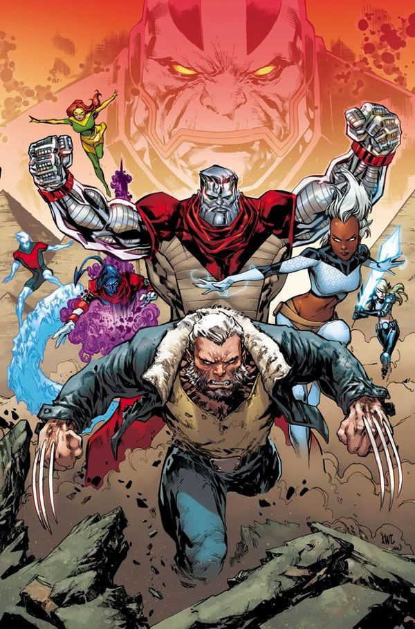 Extraordinary X Men Vs Apocalypse By Ken Lashley Marvel Comic Universe Comics Artwork Marvel