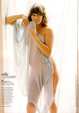 Gratis Mila Jovovich desnuda