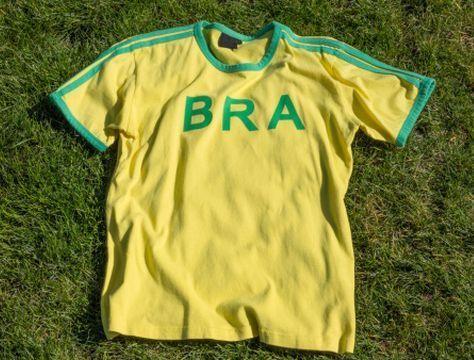 Una maglia Nike come tante?  La vera sopresa è nell'etichetta. #Mondiali2014 #Brasile2014