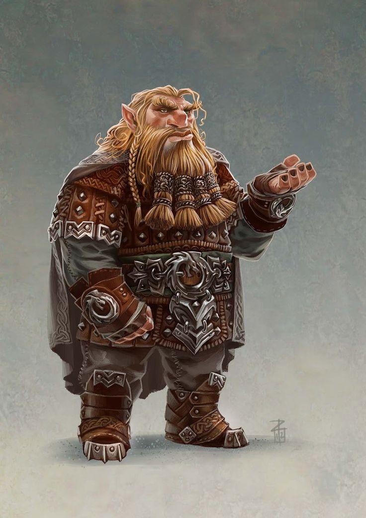 Anão: aparece frequentemente nos mitos e lendas nórdicas e germânicas, onde é visto como tendo seus próprios chefes e atribuições diversas; não é belo, mas de inteligência superior, muitos deles conhecem o futuro; e usam grandes barbas.