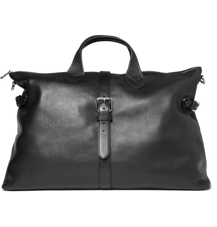 Black Leather Holdall by Mulberry #Bag #Mulberry