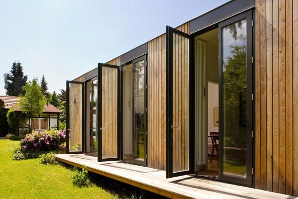 162 best haus ideen images on pinterest container houses small houses and modular homes. Black Bedroom Furniture Sets. Home Design Ideas