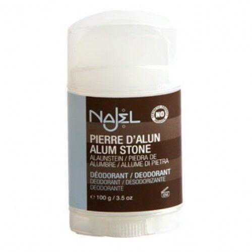 Aluinsteen deodorant stick als natuurlijke deodorant kopen?