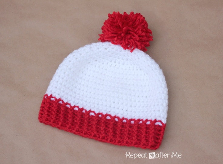 Waldo Crochet Hat Pattern  Size: approx. 2 - 4 years...