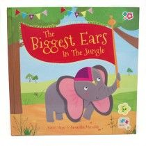 Meadow Kids - Jigsaw Book The Biggest Ears in the Jungle