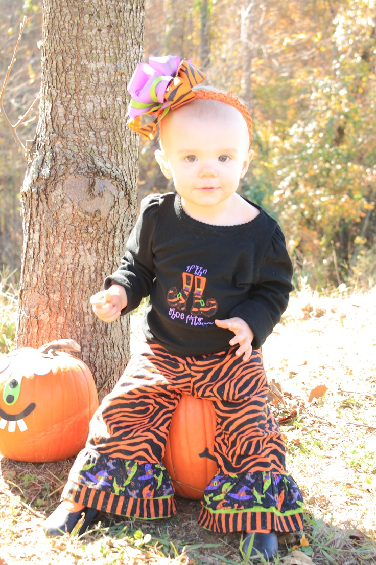 Posted by Angel Fuller:   We loved our Halloween Outfit made by One Blessed Mama.