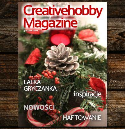 Oto grudniowy numer Creativehobby Magazine! Do przeczytania tutaj: http://bit.ly/2h5RZYm