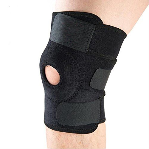 Hopeforth Knee Brace Support for Arthritis ACL Meniscus Running Basketball Best Open Patella Knee Protector Wrap Relieves Pain Symptoms >>> Check out this great product.Note:It is affiliate link to Amazon.