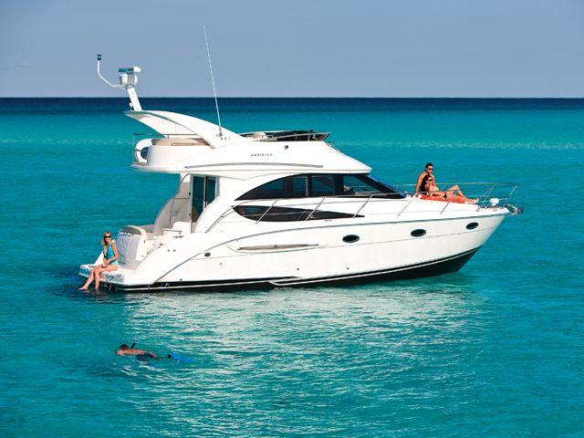 Ahhh- summer fun! Meridian Yachts-341 Sedan