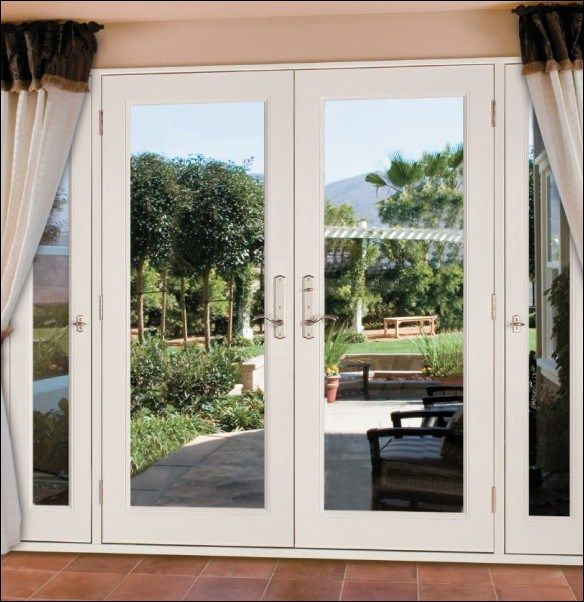 33 French Patio Door With Sidelights Ideas Fiberglass Patio Doors Patio Doors French Doors Patio