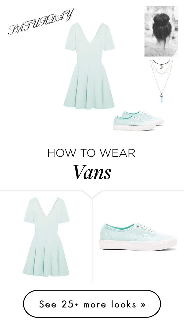 """""""Saturday M"""" by pocok01 on Polyvore featuring Opening Ceremony and Vans"""
