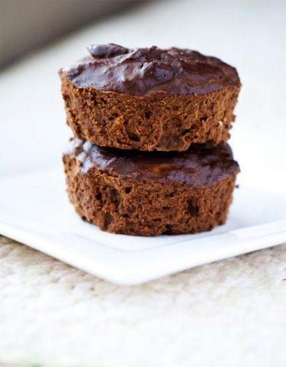 Grain and Sugar Free Carob Cocoa Mini Cakes