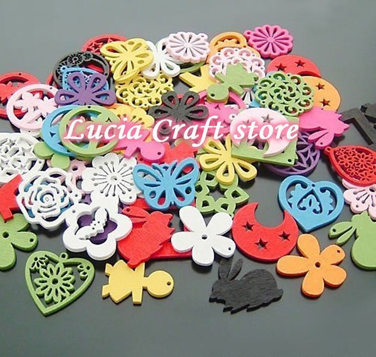 Free shipping wholesale 25MM mix shape mix color wooden beads jewelry DIY making 100pcs 017027005007 $2.79