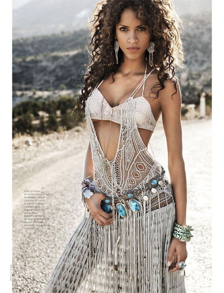 Noemie Lenoir by Thierry Le Gouès for French Revue de Modes S/S 2011