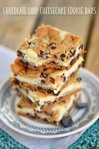 I've got a good one for you today! Chocolate Chip Cheesecake Cookie Bars! Not only are they incredibly EASY but they are unbelievably delicious! It's funny how cookie bars have taken over my life. I mean,...