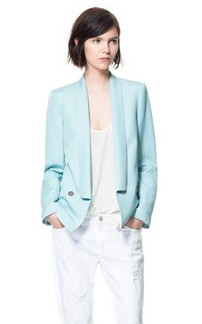 BLAZER SMOKING de Zara
