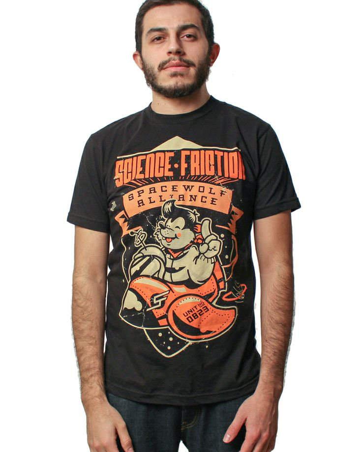 Science Friction Clothing