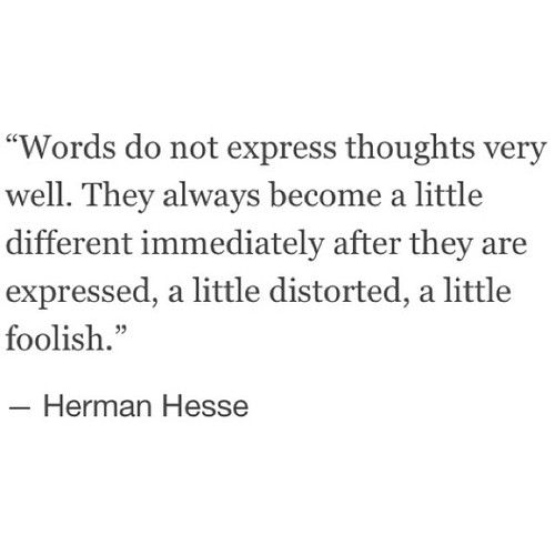 Words become a little distorted when describing a mixture of emotions