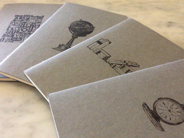 letterpress notebooks
