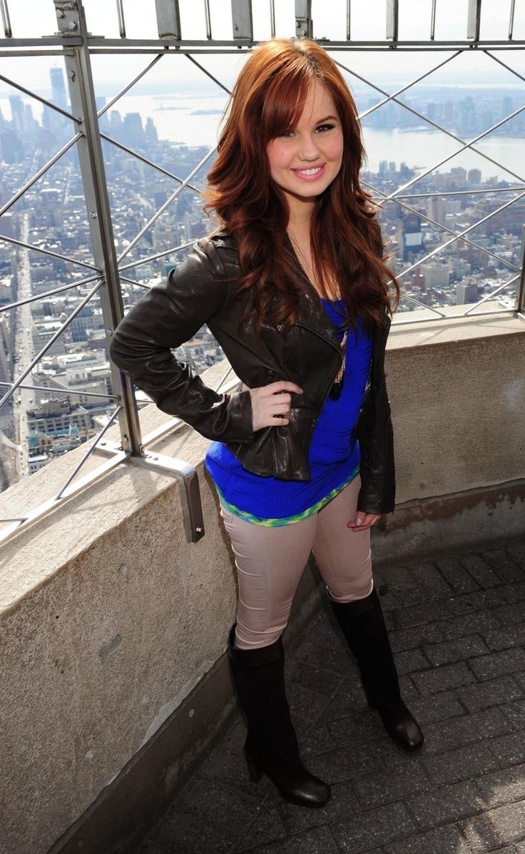 Debby Ryan - Empire State Building Photoshoot