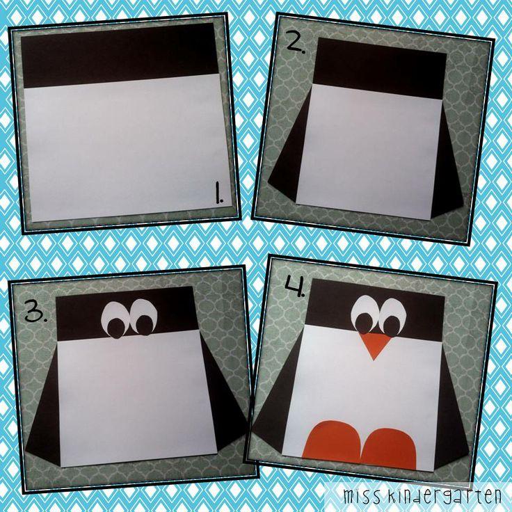 Miss Kindergarten: Square Penguin