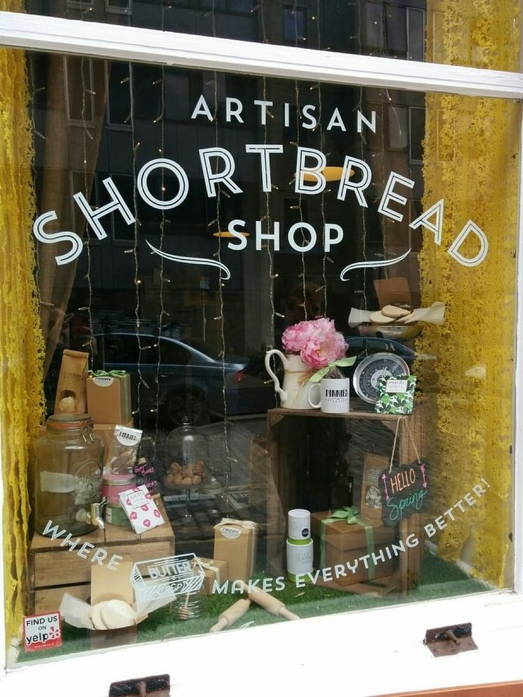 Artisan Shortbread on the Royal Mile