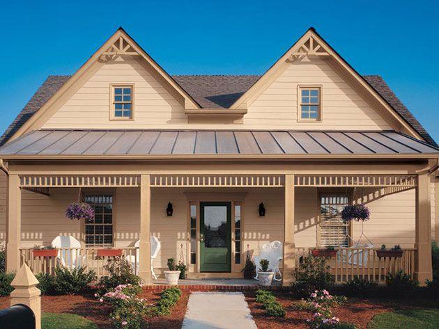 45 Fotos Y Colores Para Pintar Casa Por Fuera Mil Ideas De Decoracion Exterior House Colors Exterior Paint Colors For House House Paint Exterior
