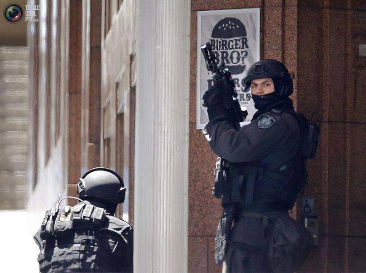 Sydney Siege: Hostages Held in Sydney Cafe