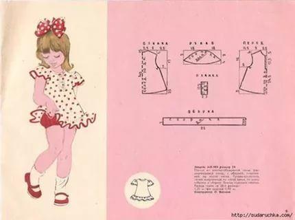 платье на кокетке для девочки из старых журналов: 22 тыс изображений найдено в Яндекс.Картинках
