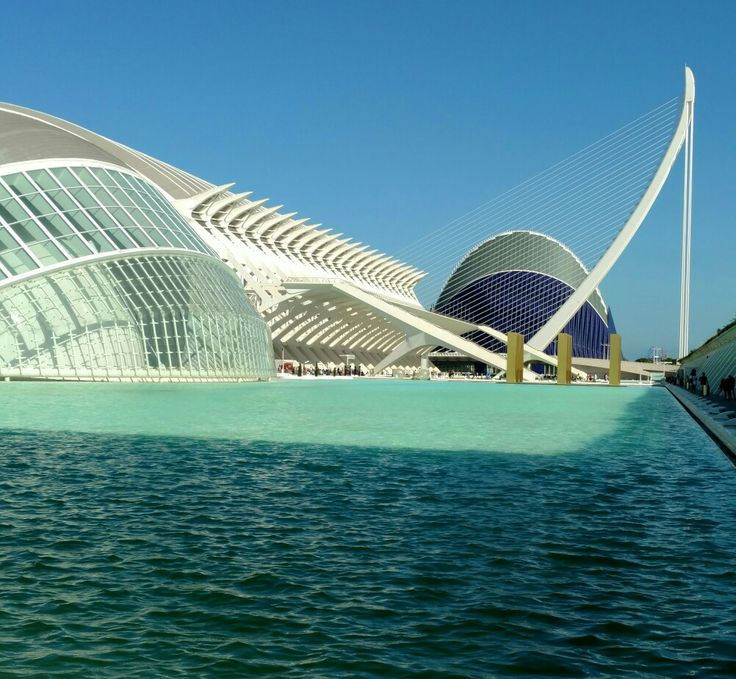 City of Arts and Sciences, Valencia, Spain -- Also home of Berklee College of Music for Master's program.  Very pretty and fine architecture.