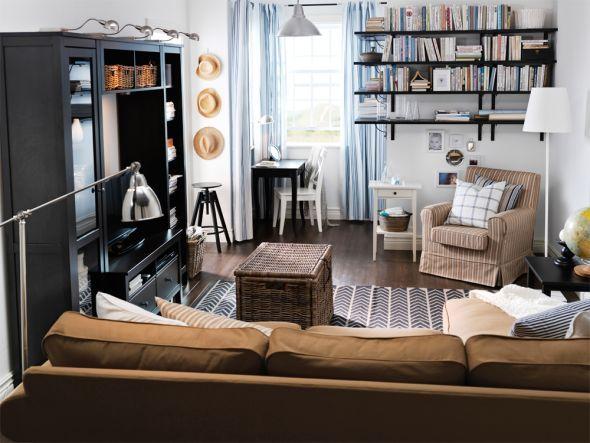 Arbeiten, Lesen, Essen: So vielfältig kann das Wohnzimmer ...