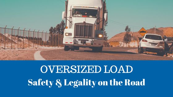 Coming through! 🚛🚛 Oversized loads are all over the roads. Check out our blog post for details about hauling big loads on big rigs. #truckerlife #oversizeload #valleydrivingschool