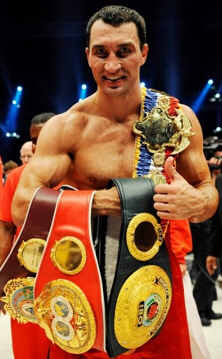 Wladimir Klitschko - World Heavyweight Champion.