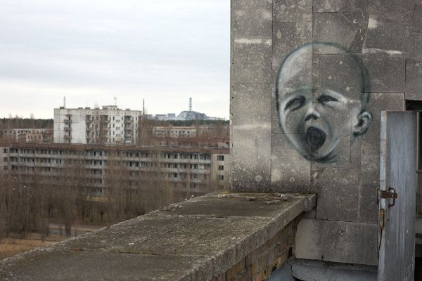 Chernobyl's graffiti: Art in the ghost town