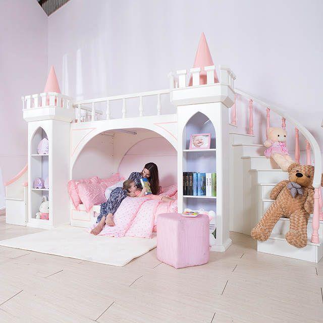 0125TB005 Europäischenstil moderne mädchen schlafzimmer