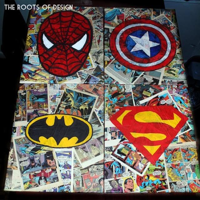 48 best images about Super Hero Art on Pinterest | Super hero art ...