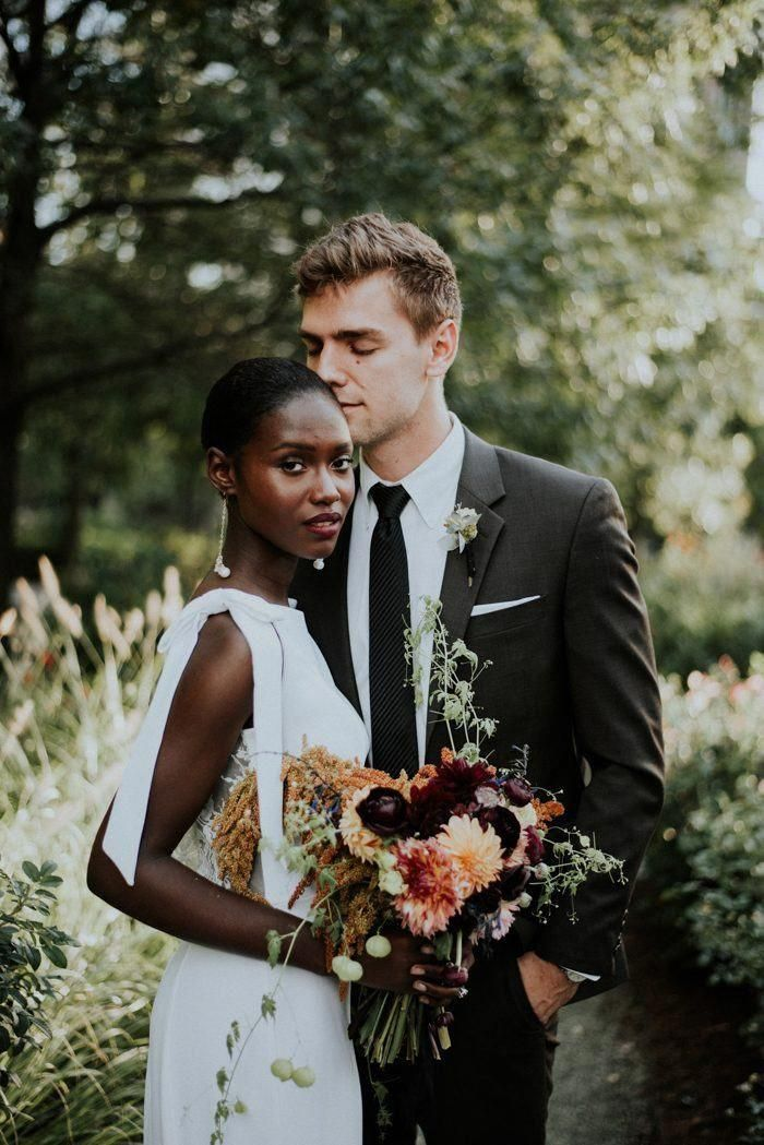 Beautiful Chicago Marriage ceremony Portrait Inspiration at Lake Shore East Park