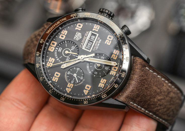 Showing you what the new TAG Heuer Carrera Calibre 16 Day-Date Chronograph in titanium with a black PVD coating is all about in our latest Hands-on article...  Read the article now: http://www.ablogtowatch.com/tag-heuer-carrera-calibre-16-day-date-chronograph-black-titanium-watch/ #sihhabtw
