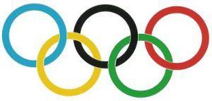 olympische ringen knutselen