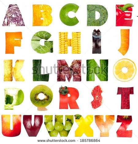 Food Alphabet Images | Download Free Images