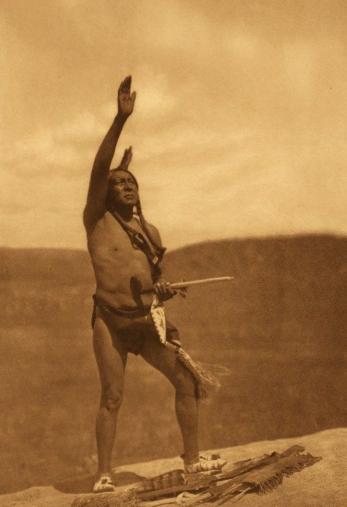 Invocation - Photograph by Edward Sheriff Curtis...  Beautiful, thought provoking....