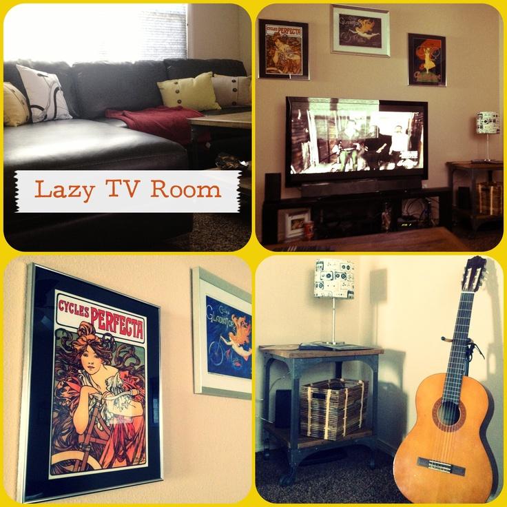 TV Lazy Room Bike Riding theme