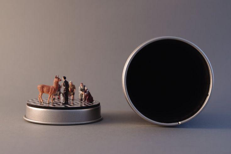 LYDECKER'S Twin Peaks Diorama Geschenkdose