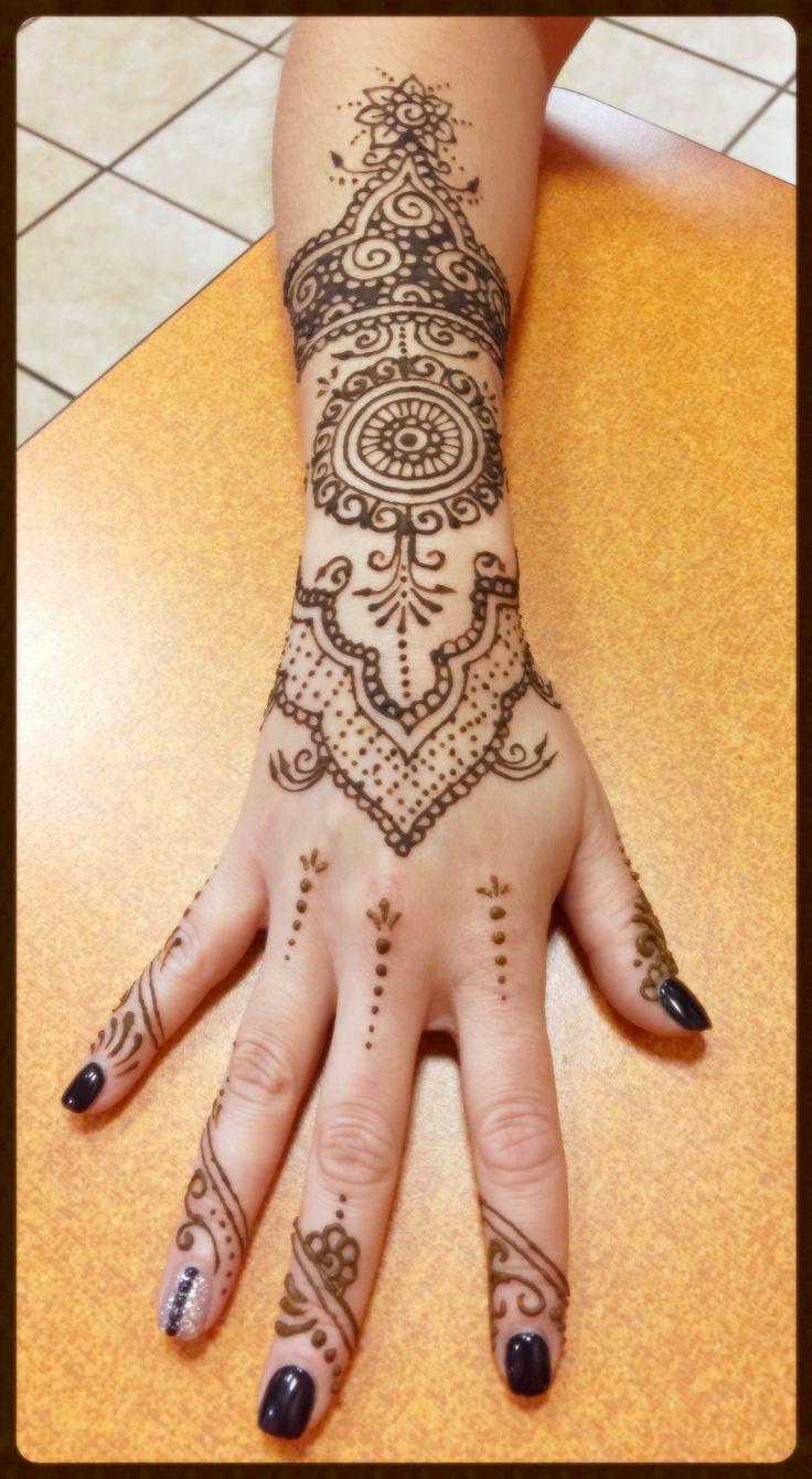 Henna Tattoo For Indian Wedding Mehndi Style Fashionable Trend