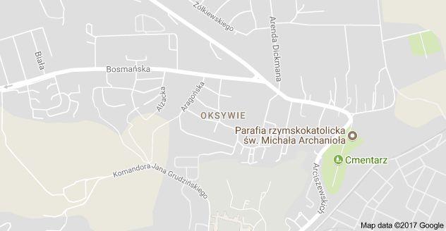 Mapa: Oksywie, Gdynia