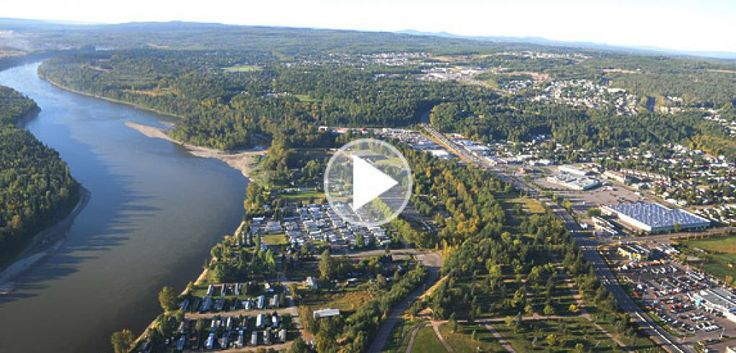 prince george bc | landscape of northern British Columbia, the City of Prince George ...