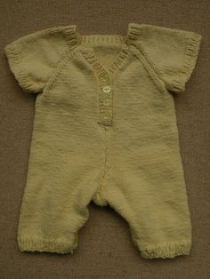 Baby Jumper Suit by creates2finds on Etsy. , via Etsy.