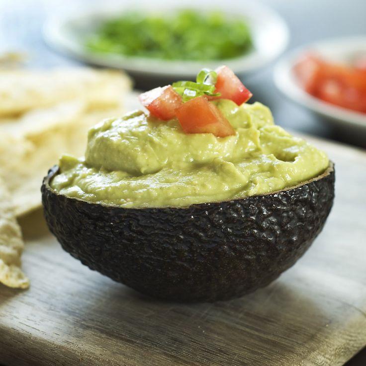 Avocado Pesto Hummus Dip
